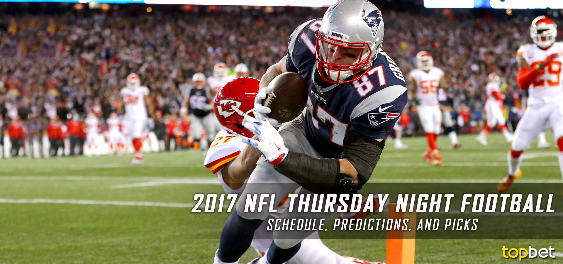 2017 NFL Thursday Night Football Schedule, Picks and