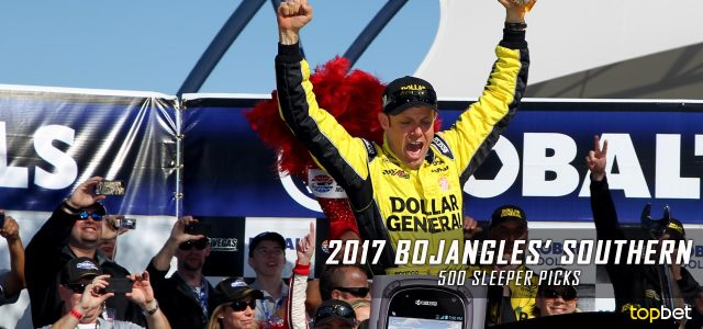 2017 Bojangles' Southern 500 Sleeper Picks and Predictions