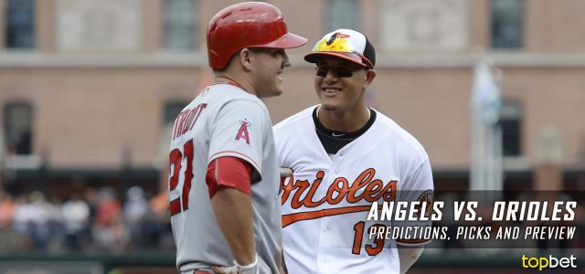 Los Angeles Angels vs. Baltimore Orioles Predictions, Picks and MLB Preview – August 18, 2017
