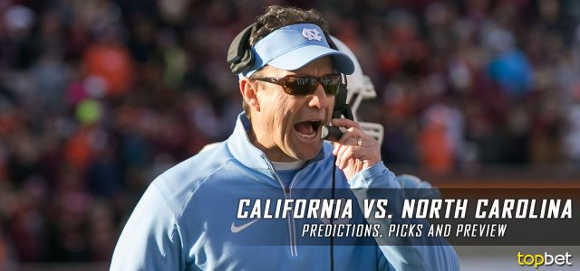 California Golden Bears vs. North Carolina Tar Heels Predictions, Picks, Odds, and NCAA Football Week One Betting Preview – September 2, 2017
