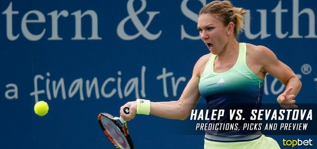 Simona Halep vs. Anastasija Sevastova Predictions, Odds, Picks, and Tennis Betting Preview – 2017 WTA Western & Southern Open Third Round