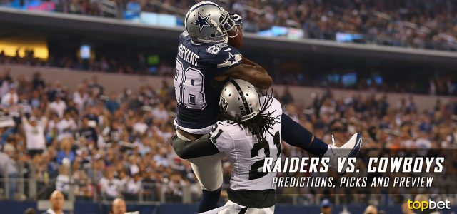 Oakland Raiders vs. Dallas Cowboys Predictions, Picks, Odds and Betting Preview – 2017 NFL Preseason Week Three