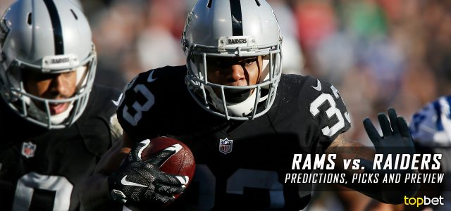 Los Angeles Rams vs. Oakland Raiders Predictions, Picks, Odds and Betting Preview – 2017 NFL Preseason Week Two