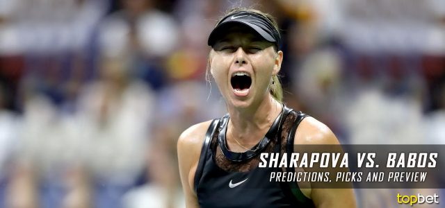 Maria Sharapova vs. Timea Babos Predictions, Odds, Picks, and Tennis Betting Preview – 2017 WTA US Open Second Round