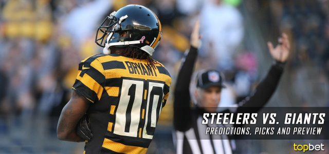 Pittsburgh Steelers vs. New York Giants Predictions, Picks, Odds and Betting Preview – 2017 NFL Preseason Week One