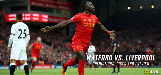 Watford vs. Liverpool Predictions, Odds, Picks and Premier League Betting Preview – August 12, 2017