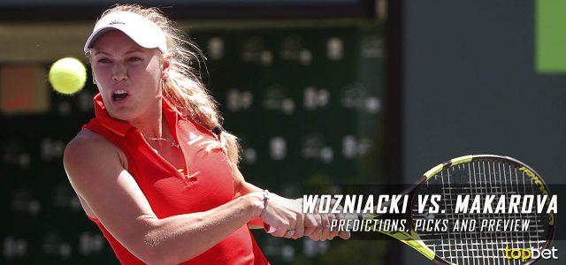 Caroline Wozniacki vs Ekaterina Makarova Predictions, Odds, Picks, and Tennis Betting Preview – 2017 WTA US Open Second Round