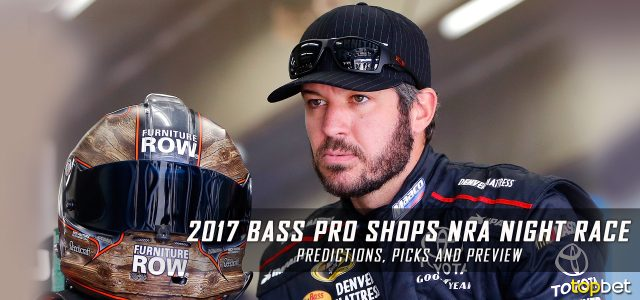 Bass Pro Shops NRA Night Race Predictions, Picks and Preview: 2017 NASCAR Monster Energy Cup Series