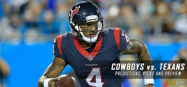 Dallas Cowboys vs. Houston Texans Predictions, Picks, Odds and Betting Preview – 2017 NFL Preseason Week Four