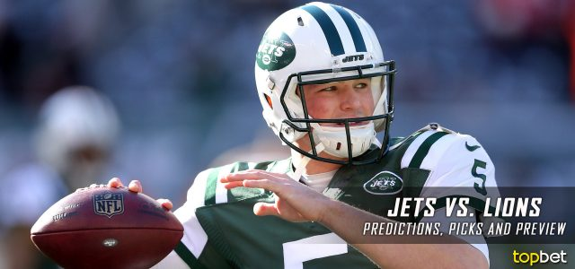 New York Jets vs. Detroit Lions Predictions, Picks, Odds and Betting Preview – 2017 NFL Preseason Week Two