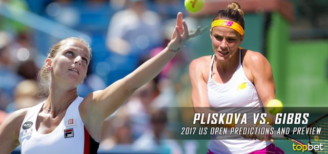 Karolina Pliskova vs. Nicole Gibbs Predictions, Odds, Picks, and Tennis Betting Preview – 2017 WTA US Open Second Round