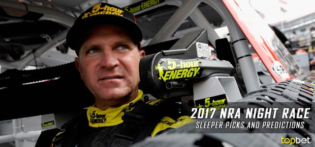 2017 Bass Pro Shops NRA Night Race Sleeper Picks and Predictions