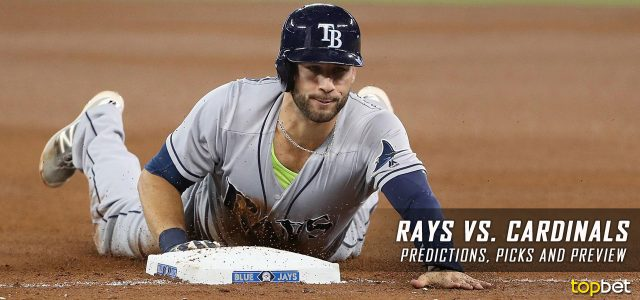 Tampa Bay Rays vs. St. Louis Cardinals Predictions, Picks and MLB Preview – August 25, 2017