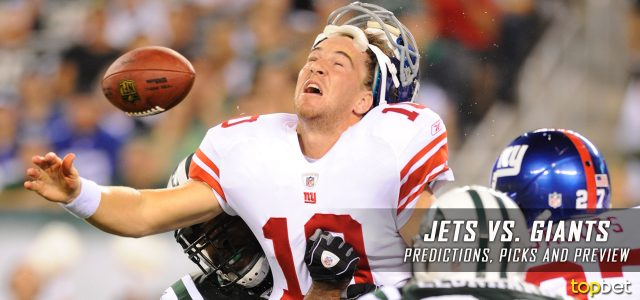 New York Jets vs. New York Giants Predictions, Picks, Odds and Betting Preview – 2017 NFL Preseason Week Three