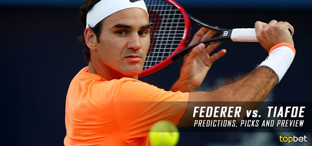 Roger Federer vs. Frances Tiafoe Predictions, Odds, Picks, and Tennis Betting Preview – 2017 US Open First Round