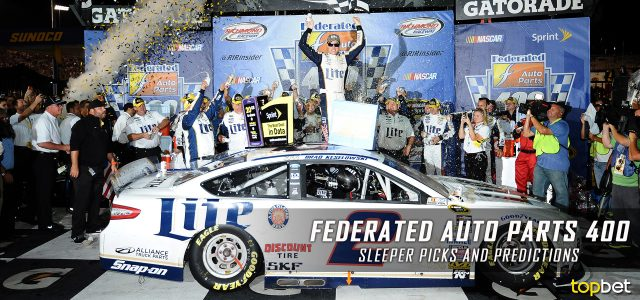 2017 Federated Auto Parts 400 Sleeper Picks and Predictions
