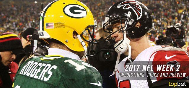 2017 NFL Week 2 Picks and Predictions