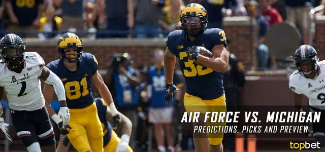 Air Force Falcons vs. Michigan Wolverines Predictions, Picks, Odds and NCAA Football Week Three Betting Preview – September 16, 2017