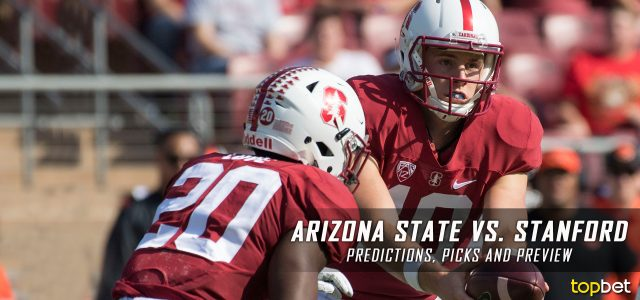 Arizona State Sun Devils vs. Stanford Cardinal Predictions, Picks, Odds and NCAA Football Week Five Betting Preview – September 30, 2017