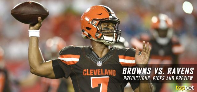 cleveland browns vs baltimore ravens predictions odds picks and nfl week 2 betting