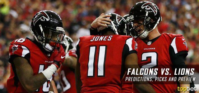 Atlanta Falcons vs. Detroit Lions Predictions, Odds, Picks and NFL Week 3 Betting Preview – September 24, 2017
