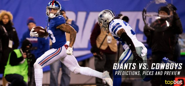 New York Giants vs. Dallas Cowboys Predictions, Odds, Picks and NFL Week 1 Betting Preview – September 10, 2017