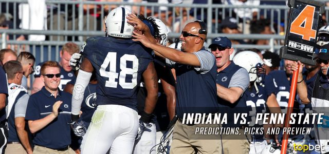 Indiana Hoosiers vs. Penn State Nittany Lions Predictions, Picks, Odds and NCAA Football Week Five Betting Preview – September 30, 2017