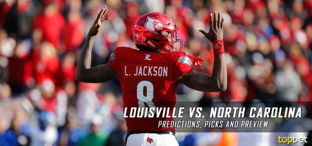 Louisville Cardinals vs. North Carolina Tar Heels Predictions, Picks, Odds, and NCAA Football Week Two Betting Preview – September 9, 2017