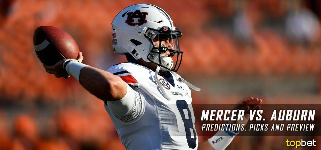 Mercer Bears vs. Auburn Tigers Predictions, Picks, Odds and NCAA Football Week Three Betting Preview – September 16, 2017