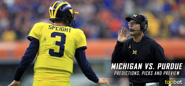 Michigan Wolverines vs. Purdue Boilermakers Predictions, Picks, Odds, and NCAA Football Week Four Betting Preview – September 23, 2017