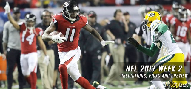 NFL 2017 Week 2 Predictions, Picks and Preview