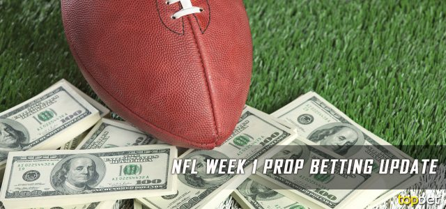 NFL Week 1 Prop Betting Update