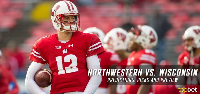 Northwestern Wildcats vs. Wisconsin Badgers Predictions, Picks, Odds and NCAA Football Week Five Betting Preview – September 30, 2017