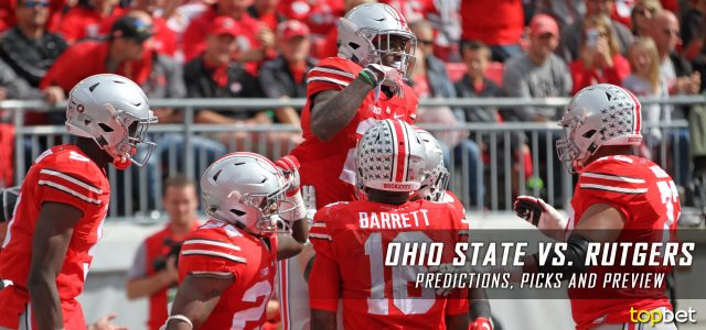 Ohio State Buckeyes vs. Rutgers Scarlet Knights Predictions, Picks, Odds and NCAA Football Week Five Betting Preview – September 30, 2017