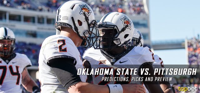 Oklahoma State Cowboys vs. Pittsburgh Panthers Predictions, Picks, Odds and NCAA Football Week Three Betting Preview – September 16, 2017