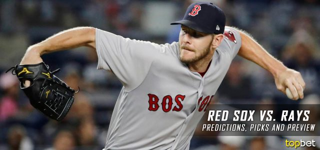 Boston Red Sox vs. Tampa Bay Rays Predictions, Picks and MLB Preview – September 15, 2017