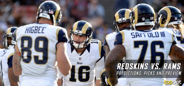 Washington Redskins vs. Los Angeles Rams Predictions, Odds, Picks and NFL Week 2 Betting Preview – September 17, 2017