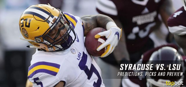 Syracuse Orange vs. LSU Tigers Predictions, Picks, Odds, and NCAA Football Week Four Betting Preview – September 23, 2017