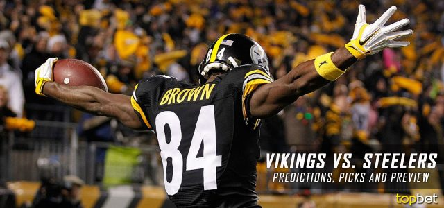 Minnesota Vikings vs. Pittsburgh Steelers Predictions, Odds, Picks and NFL Week 2 Betting Preview – September 17, 2017