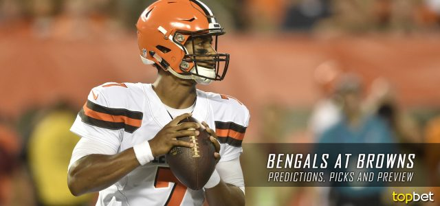 Cincinnati Bengals vs. Cleveland Browns Predictions, Odds, Picks and NFL Week 4 Betting Preview – October 1, 2017