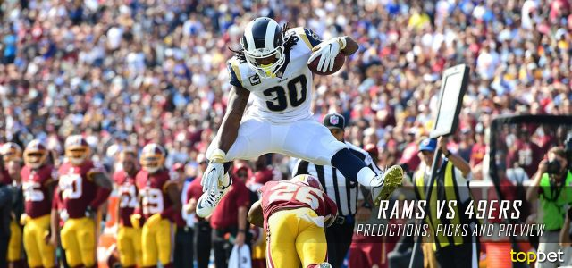 Los Angeles Rams vs. San Francisco 49ers Predictions, Odds, Picks and NFL Week 3 Betting Preview – September 21, 2017