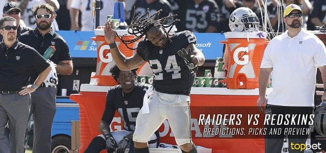 Oakland Raiders vs. Washington Redskins Predictions, Odds, Picks and NFL Week 3 Betting Preview – September 24, 2017