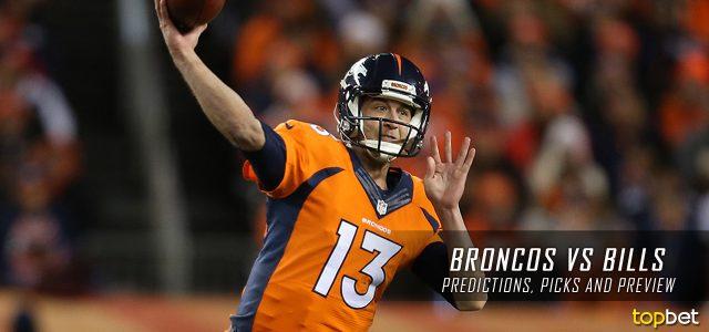 Denver Broncos vs. Buffalo Bills Predictions, Odds, Picks and NFL Week 3 Betting Preview – September 24, 2017