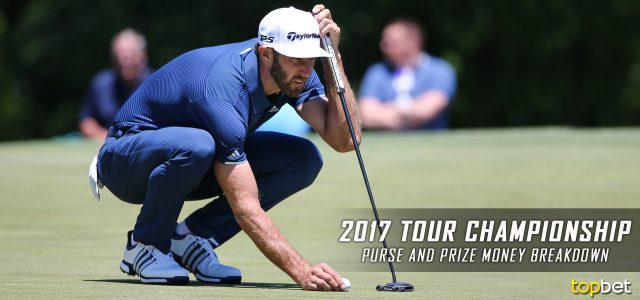 2017 PGA Tour Championship Purse and Prize Money Breakdown