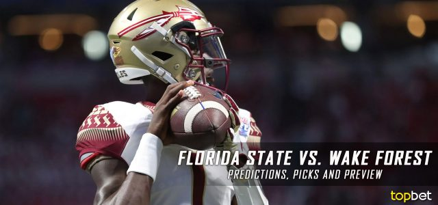 Florida State Seminoles vs. Wake Forest Demon Deacons Predictions, Picks, Odds and NCAA Football Week Five Betting Preview – September 30, 2017