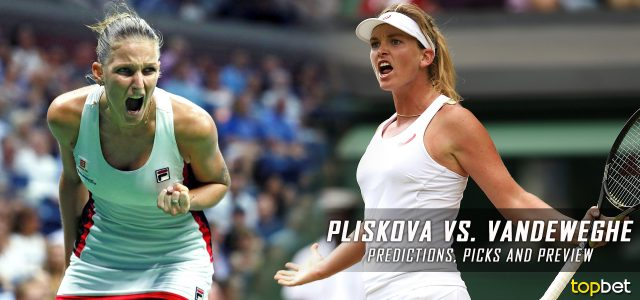 Karolina Pliskova vs. Coco Vandeweghe Predictions, Odds, Picks, and Tennis Betting Preview – 2017 WTA US Open Quarterfinals