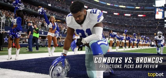 Dallas Cowboys vs. Denver Broncos Predictions, Odds, Picks and NFL Week 2 Betting Preview – September 17, 2017