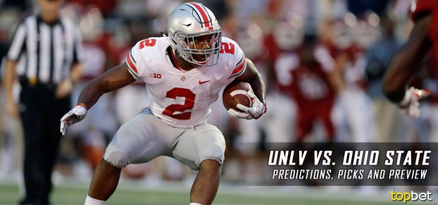 Image result for UNLV vs Ohio State ncaaf pic