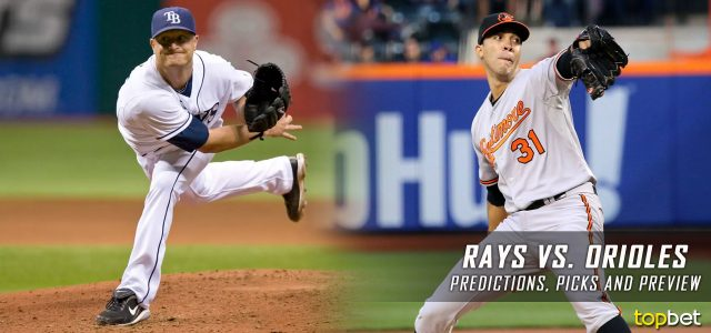 Tampa Bay Rays vs. Baltimore Orioles Predictions, Picks and MLB Preview – September 22, 2017
