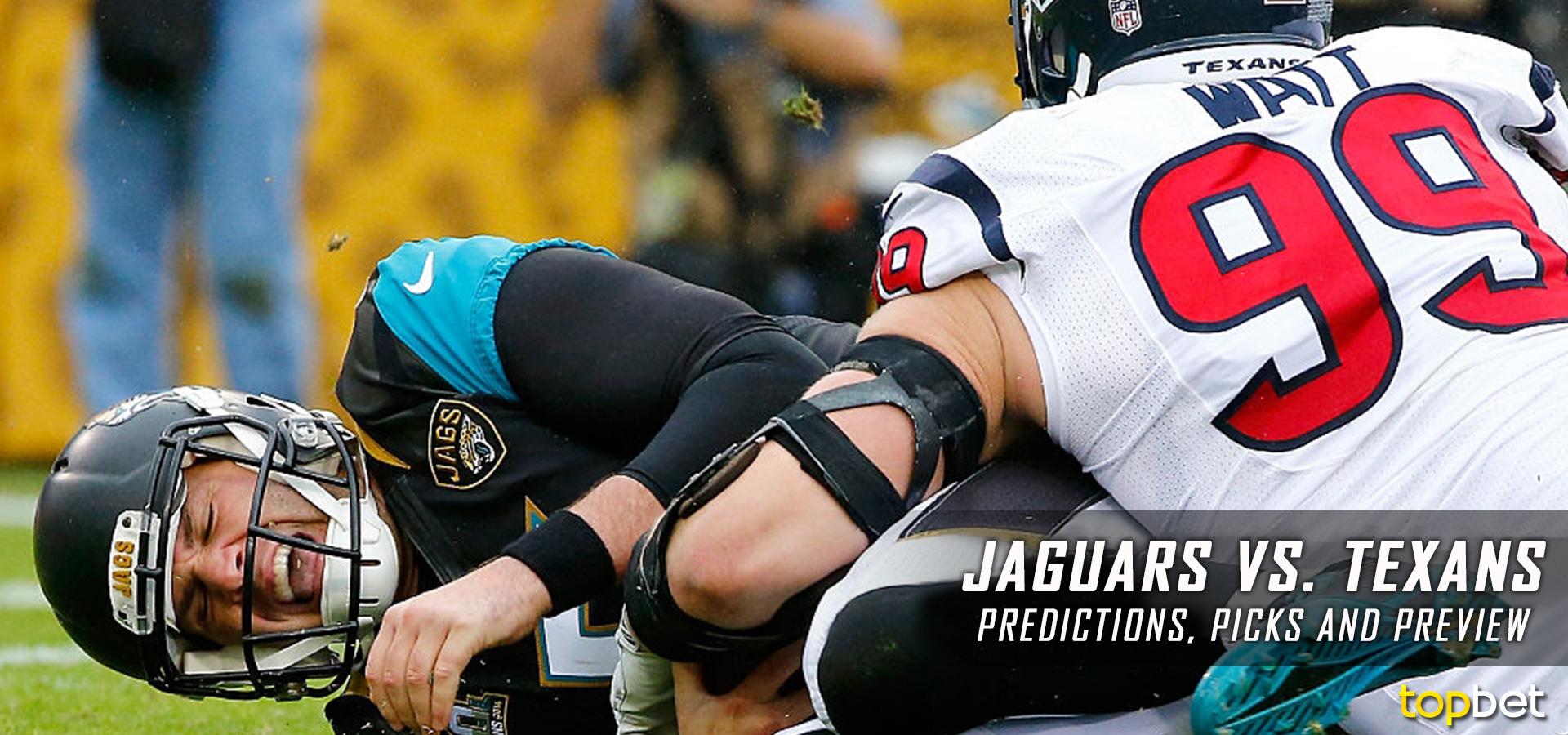 Jacksonville Jaguars Vs Houston Texans Predictions U0026 Picks